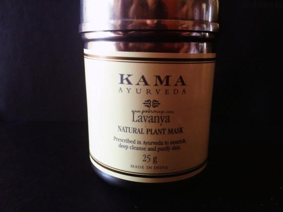 Kama Ayurveda Lavanya Plant face mask review
