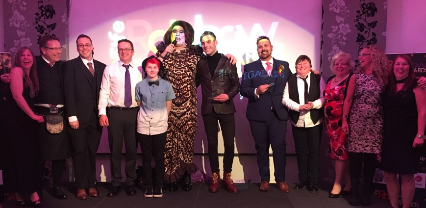 nancy-clench-with-all-the-fife-rainbow-award-winners