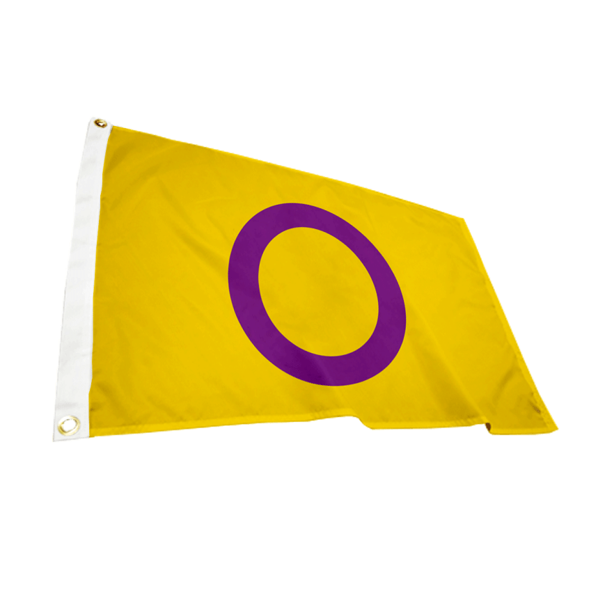 Intersex Flag 5ft x 3ft