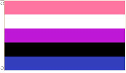 Gender Fluid Flag 5ft x 3ft