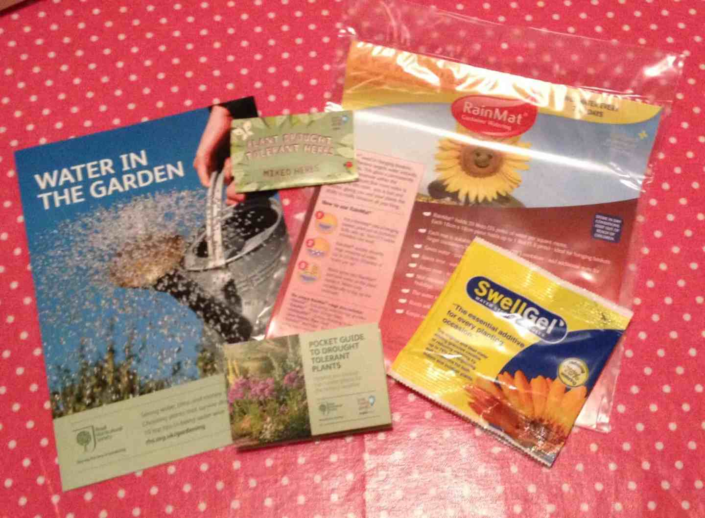 Save water with the Anglian Water water-saving kit for the garden