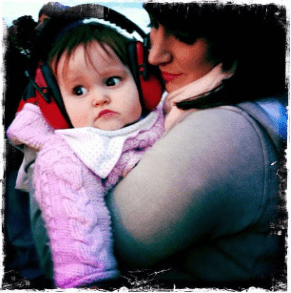 Ava at her first festival