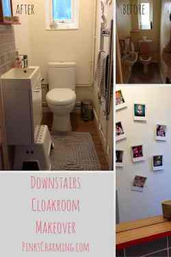Downstairs Cloakroom Makeover