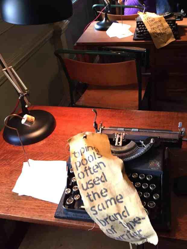 Typewriters at Upton House