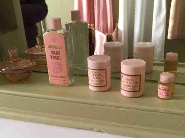 Vintage Elizabeth Arden Ardena cosmetics at Upton House