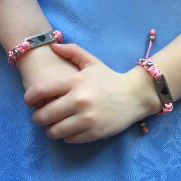 Pink Pixie MyBugle ID Bracelets