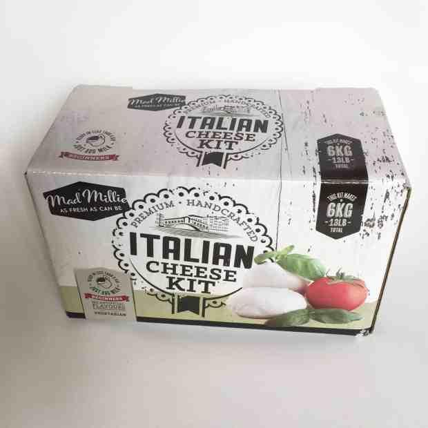 Mad Millie Italian Cheese Making Kit