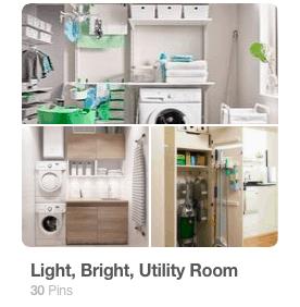 Utility Room Pinterest Board