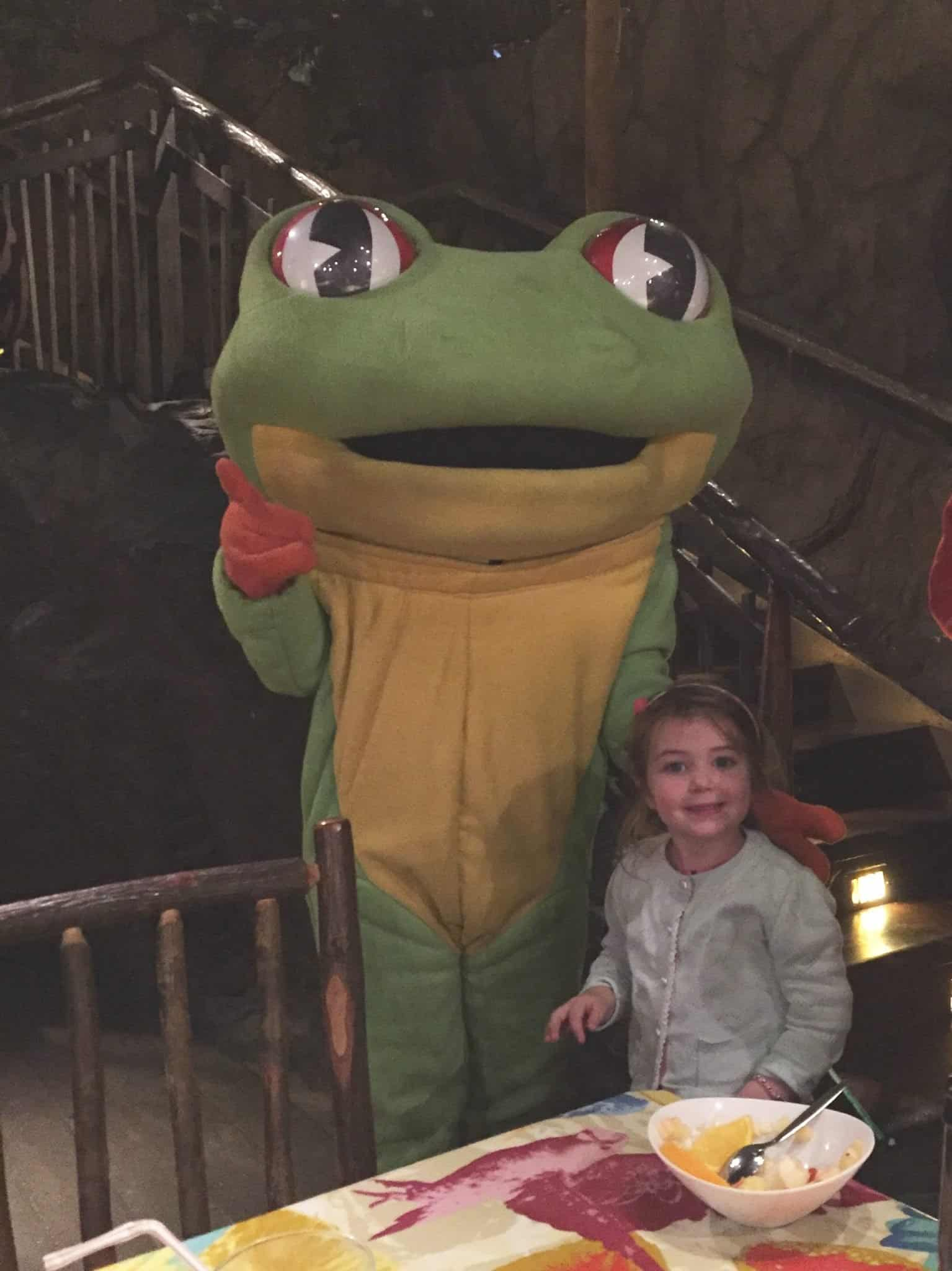 Thea at The Rainforest Cafe