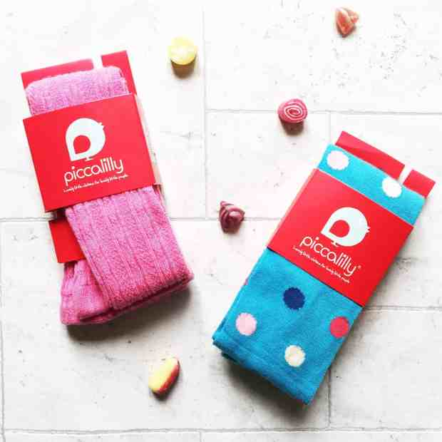 Piccalilly organic kids tights
