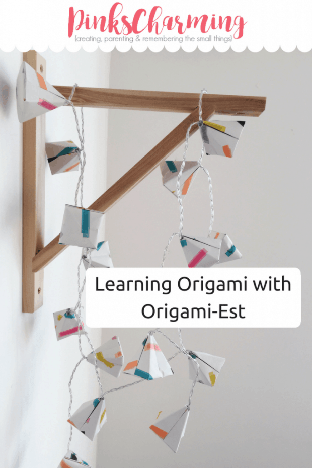 I've been learning origami at an Origami-Est workshop at Southwood Stores near Milton Keynes. Esther's origami workshop was such fun, I can't wait to go to another one. http://pinkscharming.com