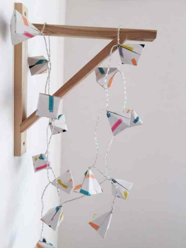 Origami Fairy Lights with Origami Est.