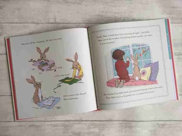 Pages from Belle & Boo's Christmas