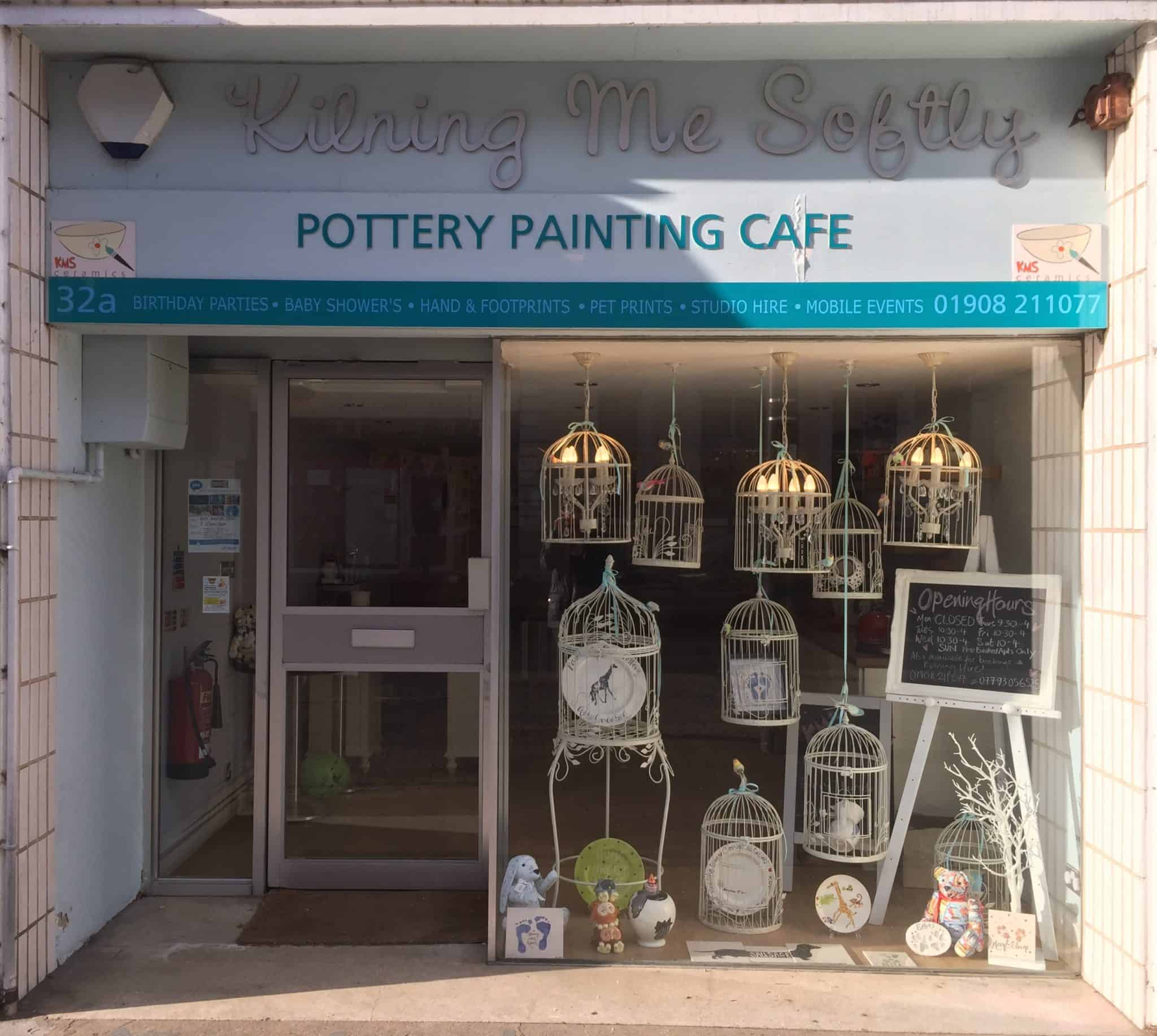Kilning Me Softly Pottery Painting Cafe.