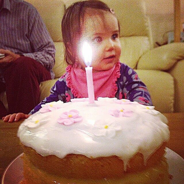 Thea on her 1st birthday