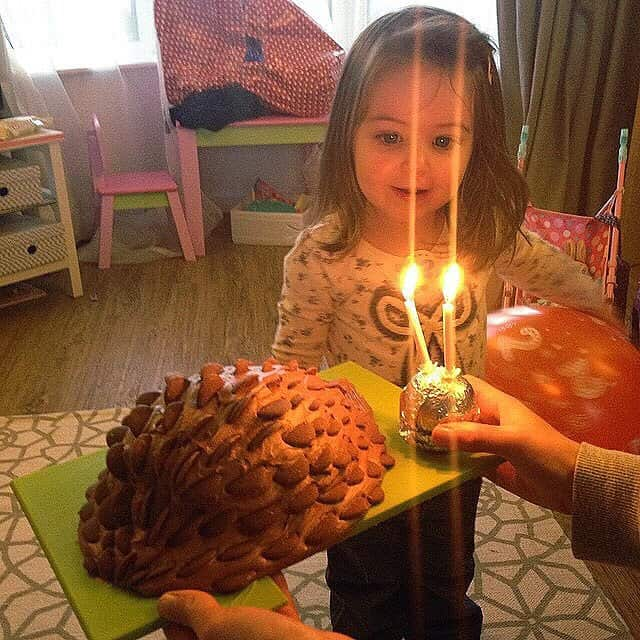 Thea on her 2nd birthday