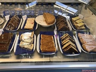 Cake selection at Paradise Park Wildlife Sanctuary