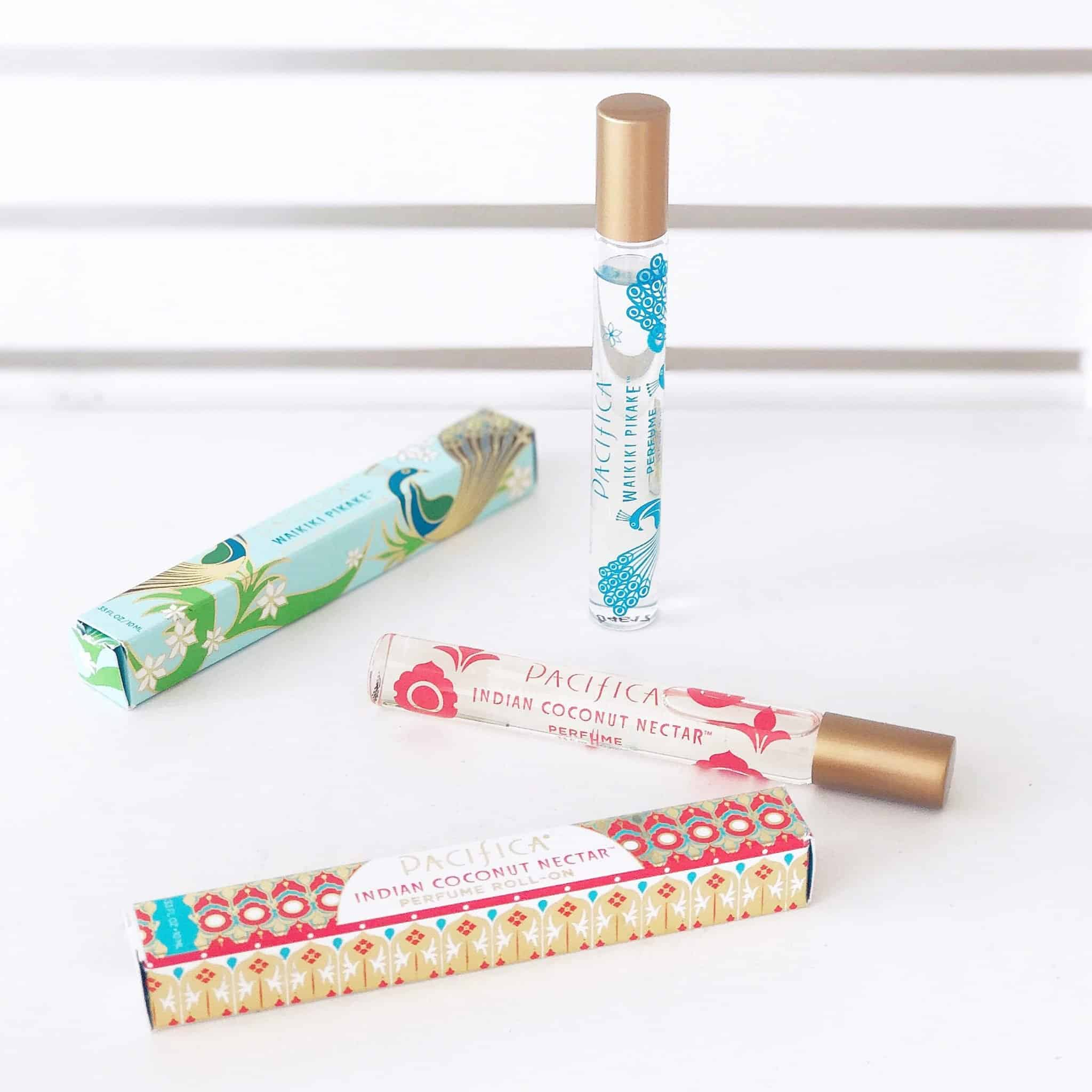 Perfectly Portable Natural Perfumes from Pacifica, Ideal For Travel