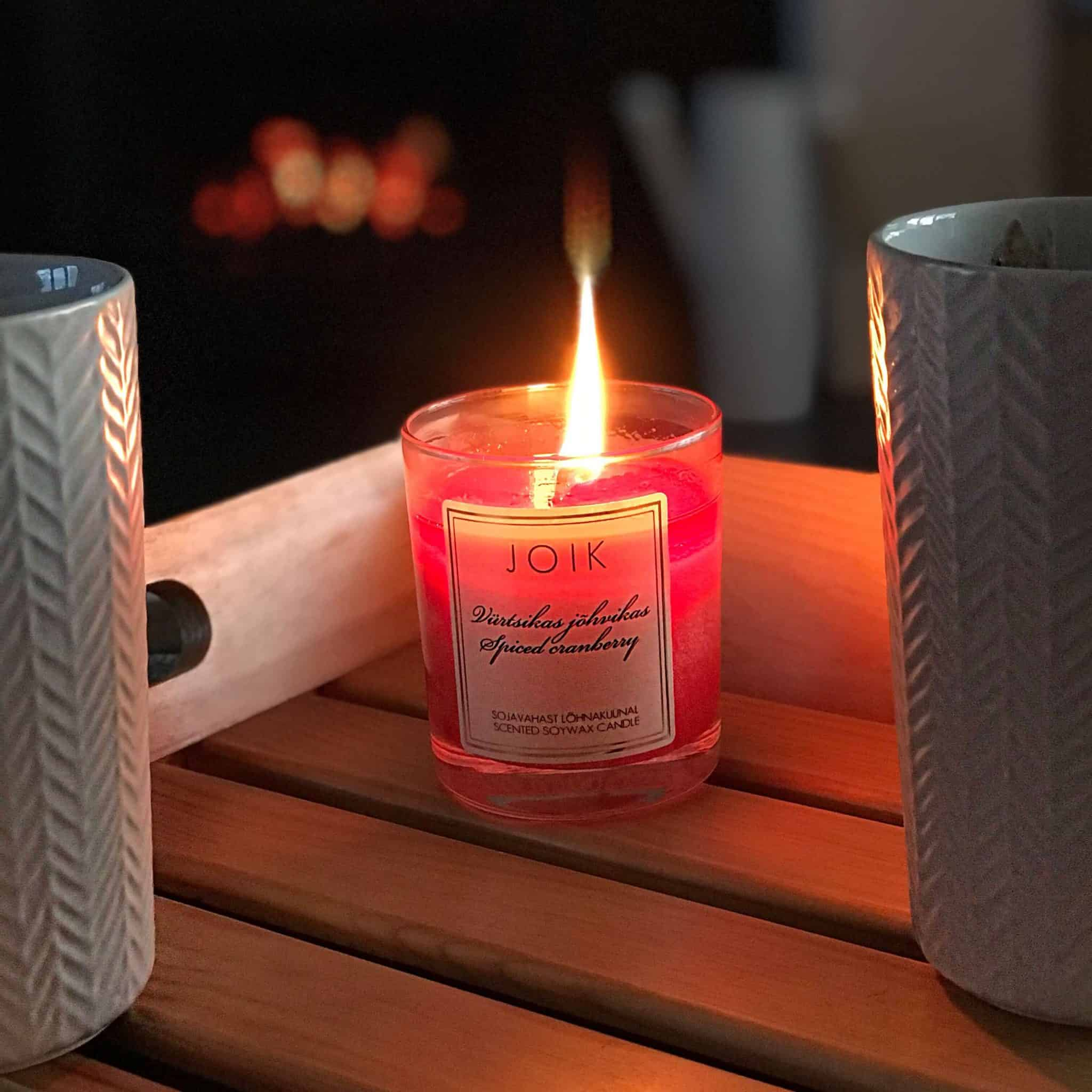 Create a Hygge Haven wth hot chocolate and a scented candle