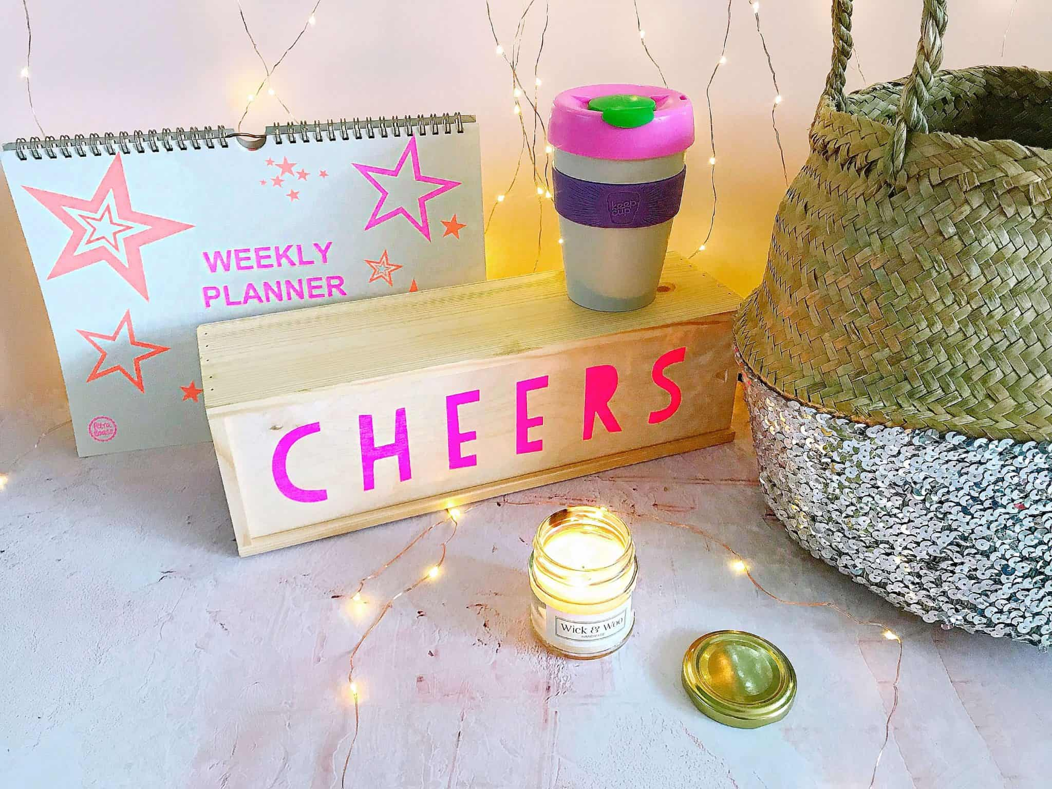 Ethical Gifts for Her - neon and pink