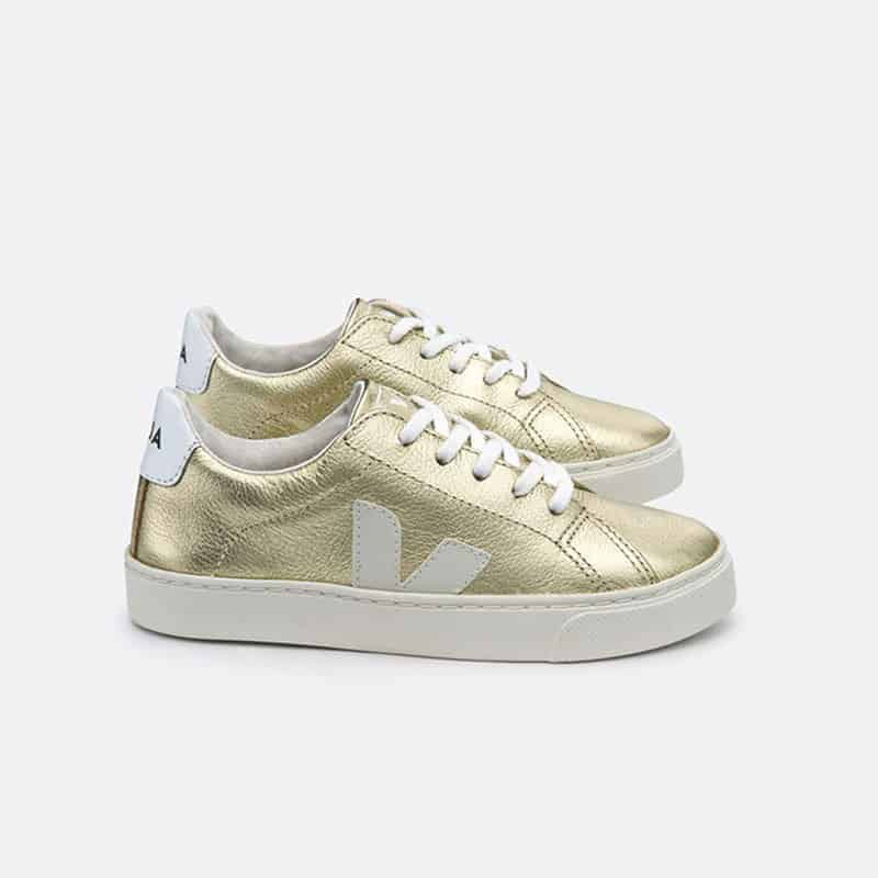 Gold Veja sneakers from Cocoon Child