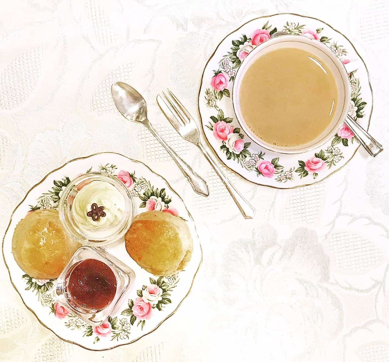 Afternoon Tea at Woburn Coffee House