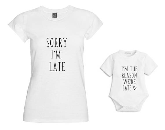 LoveMimiX Matching Mum and Baby Tshirts make a great Unique Mother's Day Gift Idea