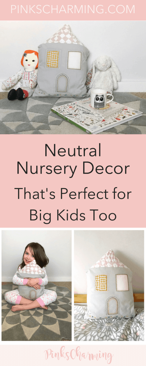 Neutral Nursery Decor from Niki Jones at Mamas & Papas that's perfect for big kids too