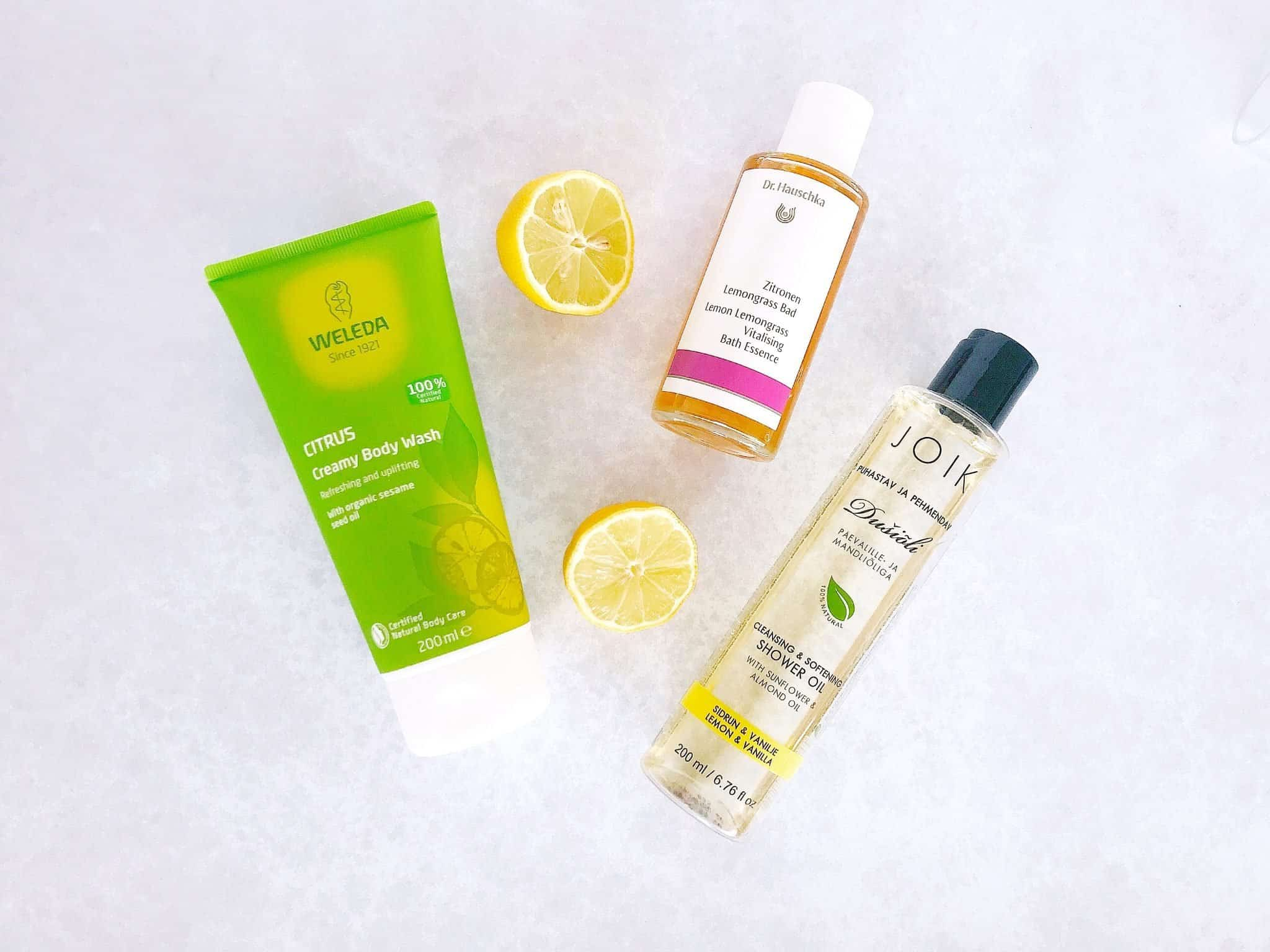 Get a citrus zing for spring with natural body care