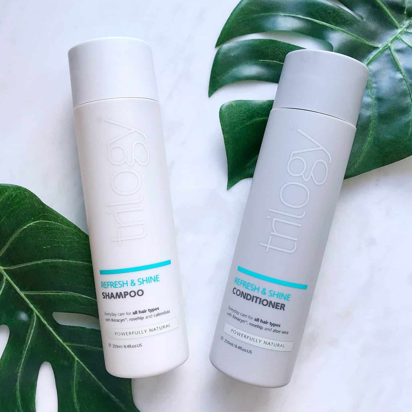 Trilogy Refresh and Shine Shampoo and Conditioner