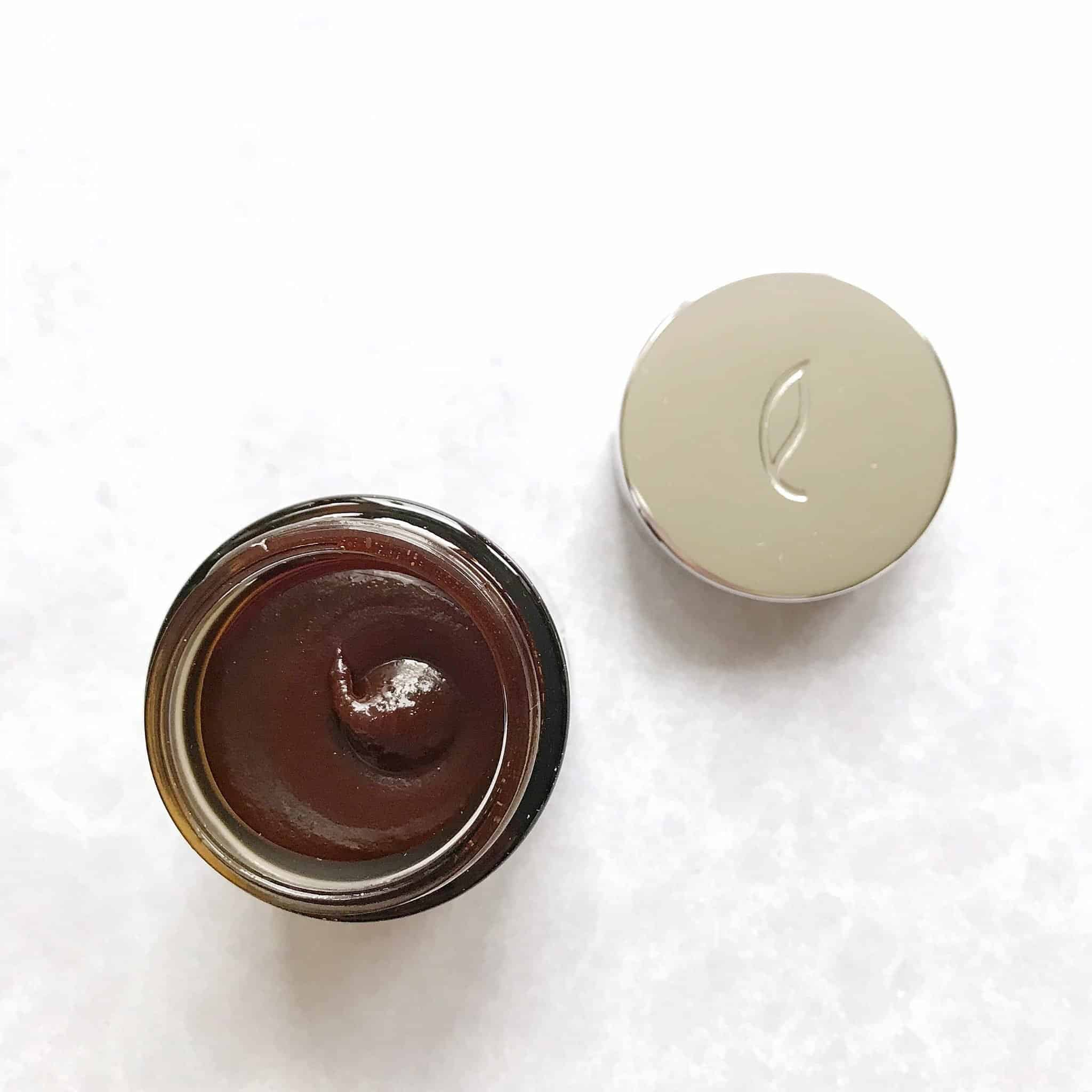 Esse Cocoa Exfoliator in glass jar
