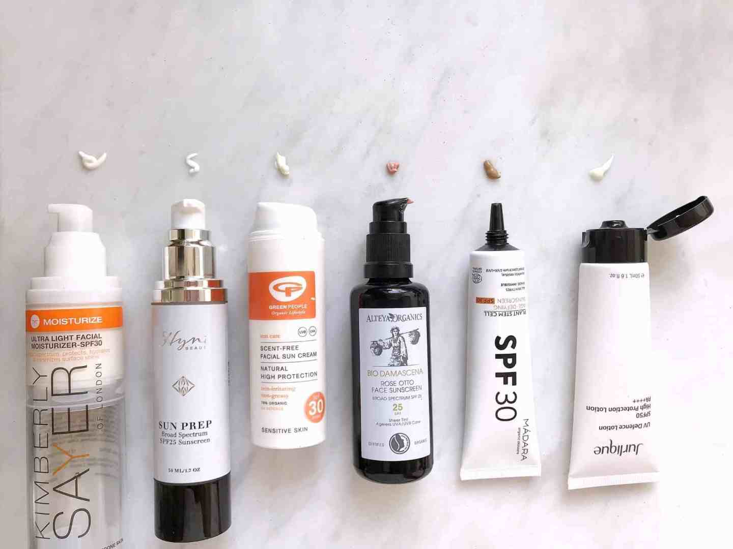 6 of the Best: Natural, Organic and Clean Facial Sunscreen Review