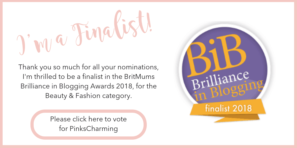 Finalist in the BiBs 2018 for Beauty & Fashion