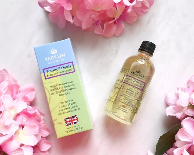 Kathleen Natural Body and Massage Oil