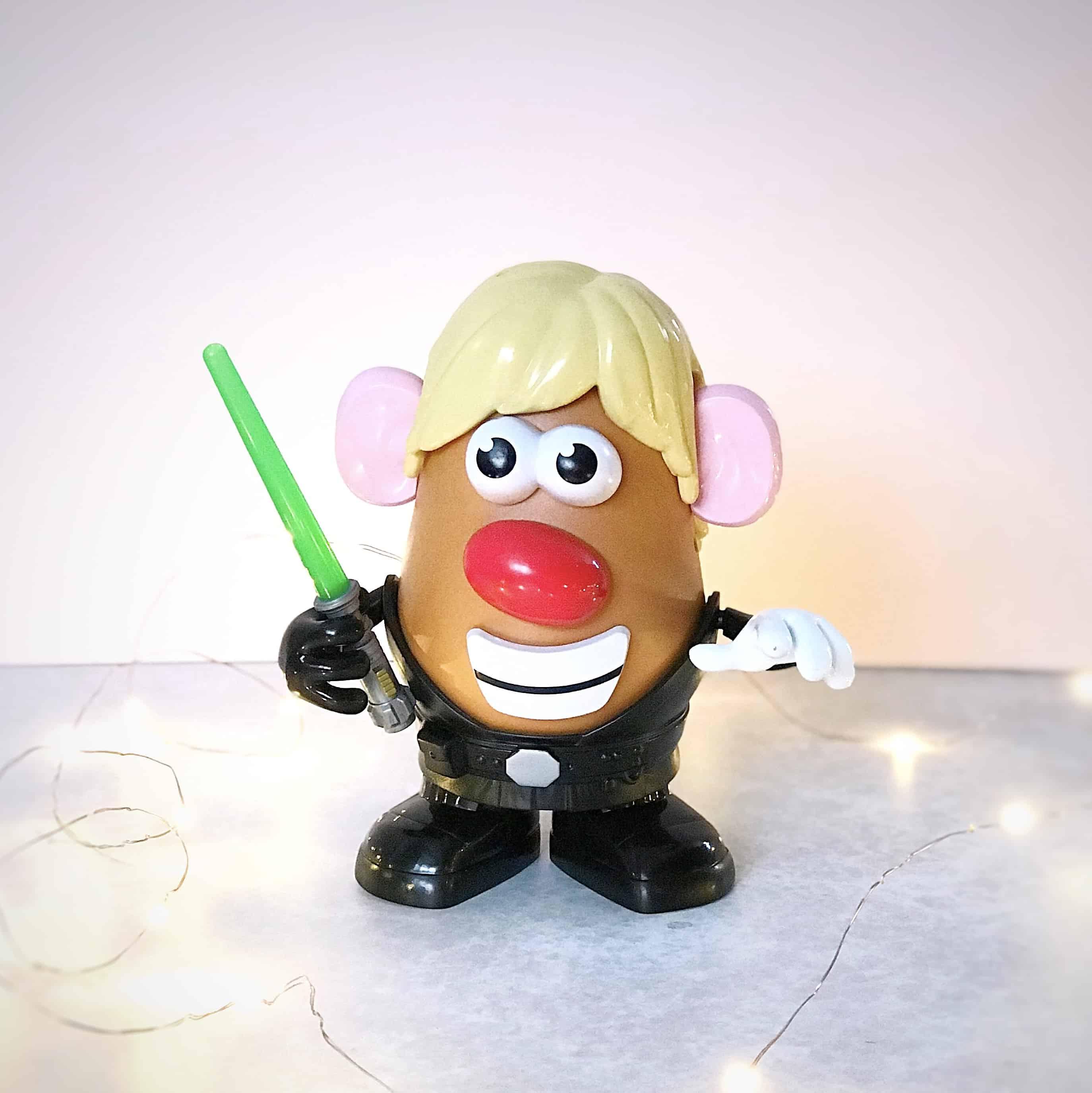 Star Wars Luke Frywalker Mr. Potato Head figure