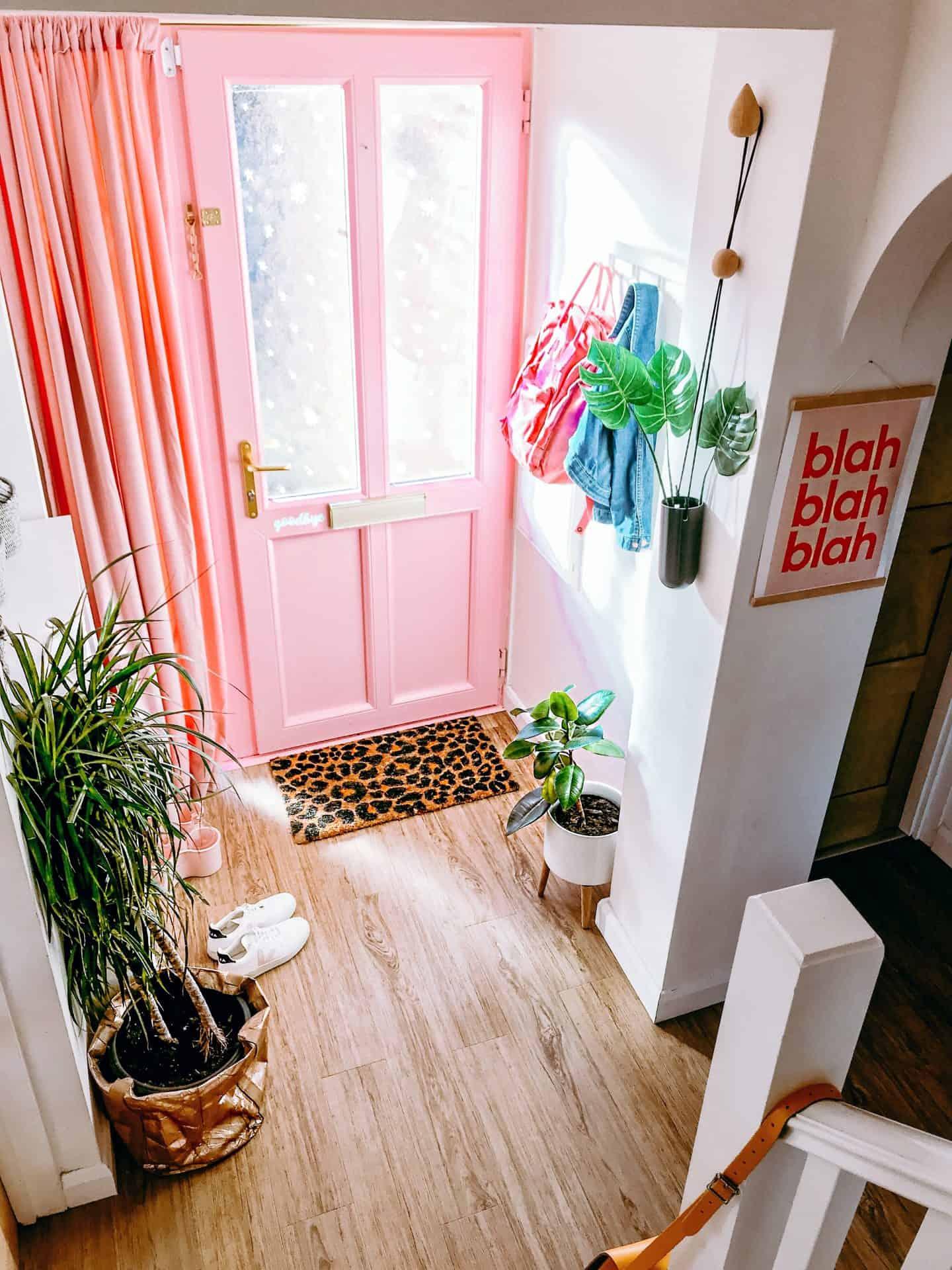 heat with a cosy velvet door curtain