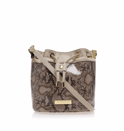 Carvela Ceris Mini Drawstring Crossbody Bag