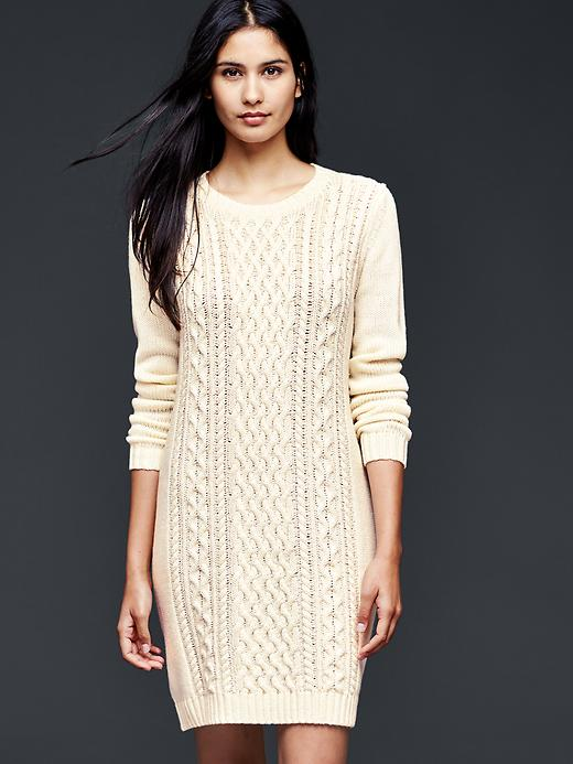 Gap cable-knit sweater dress