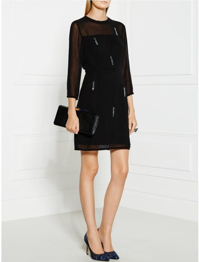 SONIA BY SONIA RYKIEL All Over Jewel Georgette Dress