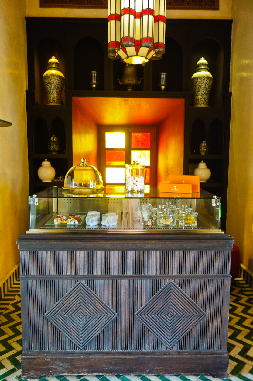 Bar Pavillion at La Mamounia hotel, Marrakech