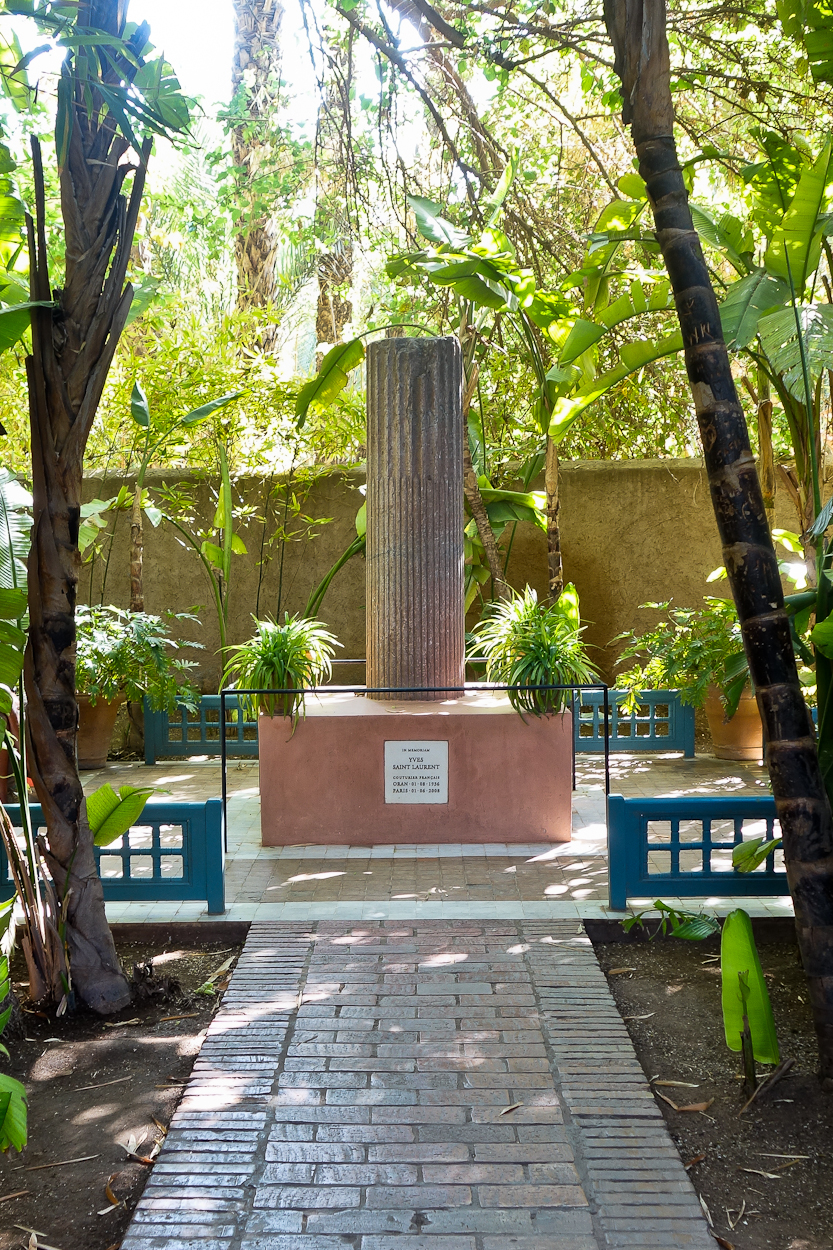 Yves Saint Laurent Memorial at Jardin Majorelle, Marrakech