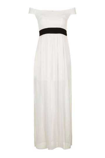 Bardot Colour Block Maxi Dress by Wal G