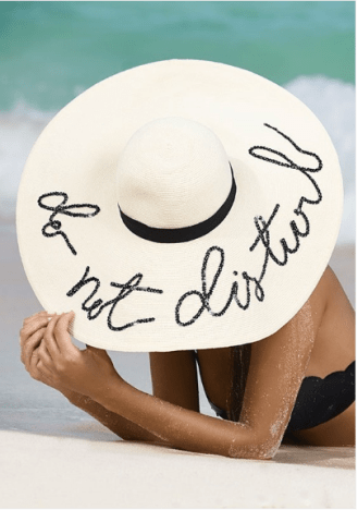 Eugenia Kim DO NOT DISTURB HAT