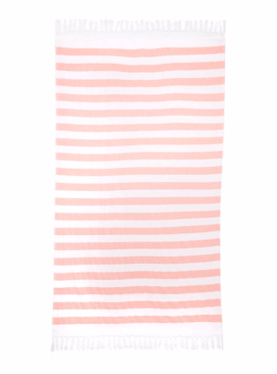 Gray & Willow Red Beach Towel