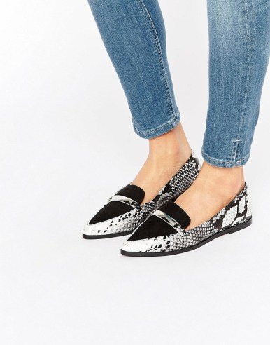 ASOS MARSHA Pointed Flat Shoes