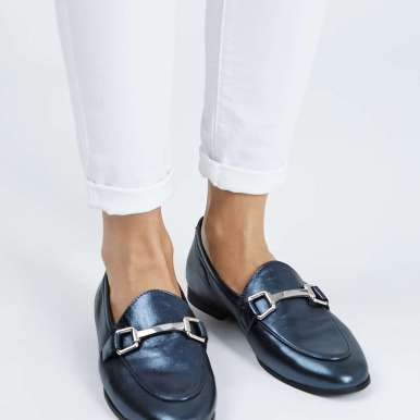 Topshop KENDALL Leather Loafers