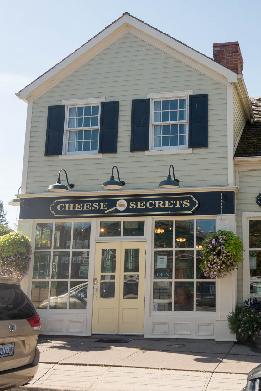 Cheese shop, Niagara-on-the-Lake