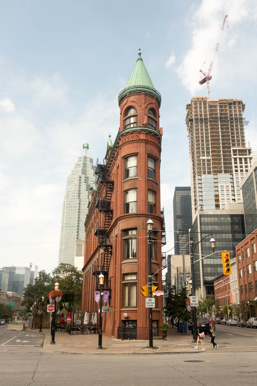 The Gooderham Building, Toronto's flatiron building