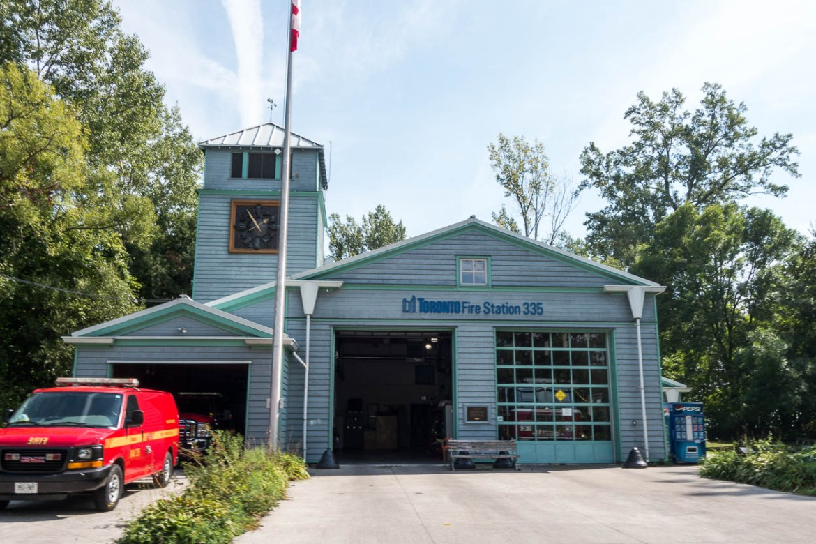Fire station on the Toronto Islands