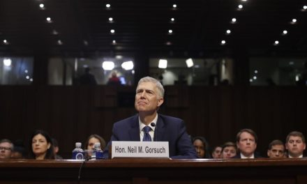 Gorsuch tight-lipped on LGBT views at confirmation hearing
